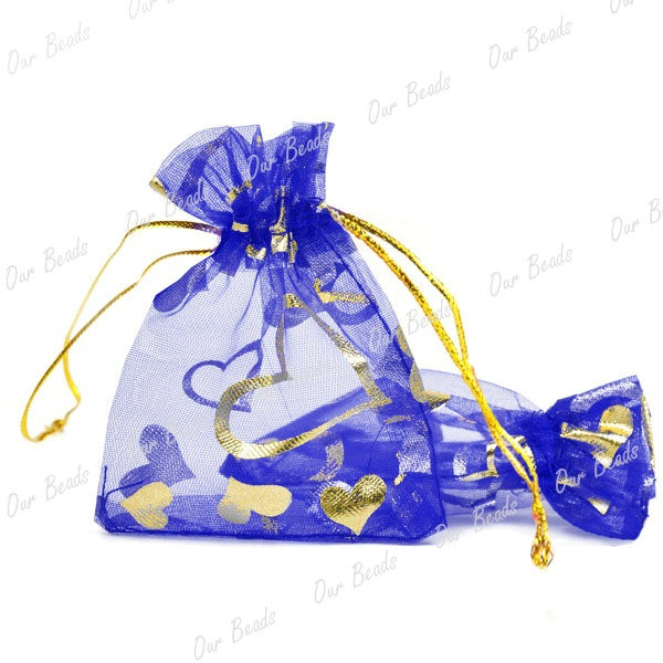 20-Sapphire-Blue-Rectangle-Organza-Hearts-Fashion-Pouches-Gift-Bags-70x90-BB03-7