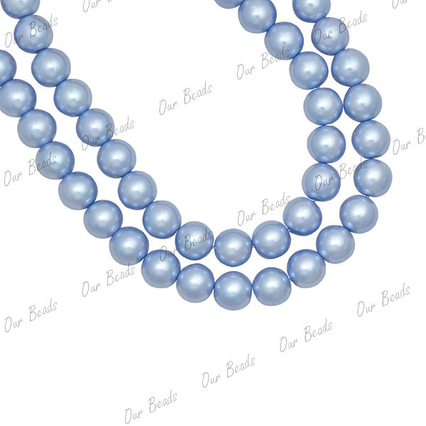 4mm,6mm,8mm,10mm Round Czech Glass Pearl Jewellery Craft Beads Loose 30 Colours