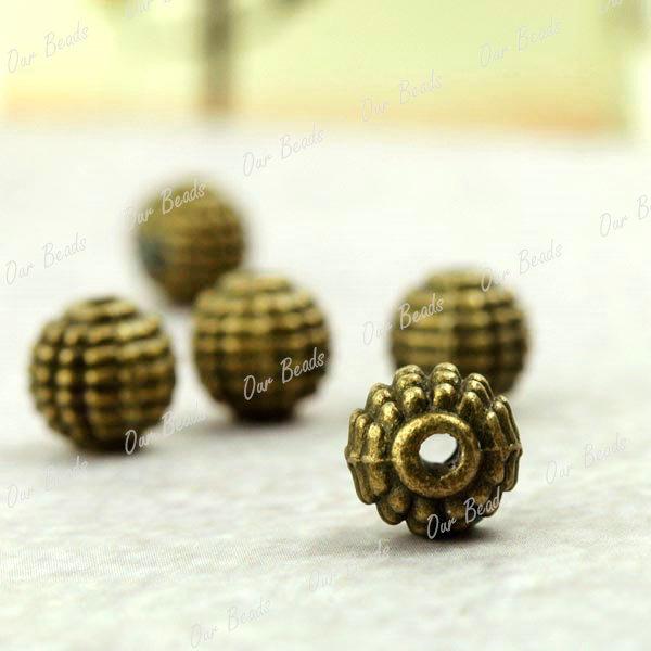 50pcs-Antique-Brass-Tube-Beads-Charms-Pendants-TS0912-4