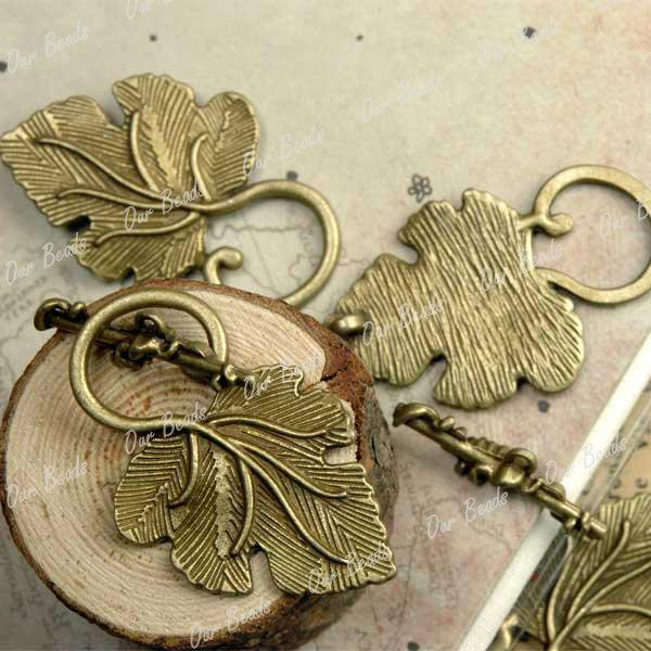 20set-Antique-Vintage-Brass-Leaf-Clasps-Beads-TS4179-4