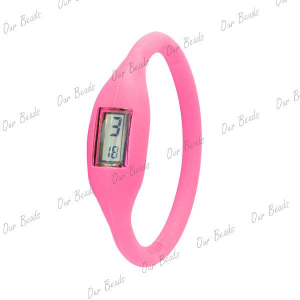 Pink-Unisex-Silicone-Rubber-Jelly-Ion-Sports-Bracelet-Wrist-Watch-Fashion-WT9-17
