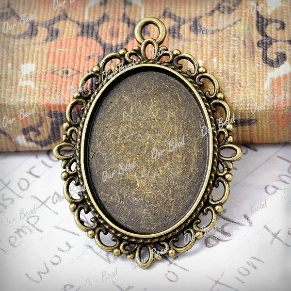 15-Antique-bronze-lace-cameo-settings-pendants-TS7373