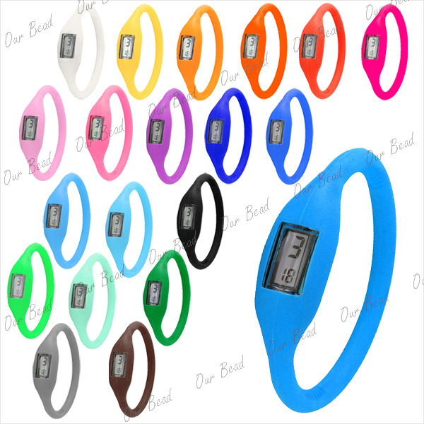 New-Silicone-Rubber-Jelly-Nagtive-Ion-Sport-Watch-Bracelet-FOR-Men-Women-Kids