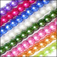 4mm-6mm-8mm-10mm-Round-Glass-Pearl-Beads-23Colors-1-or-Mixed-T015