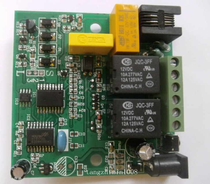 details about new 12v phone telephone line mobile remote control access relay board switchRemote Control Using Telephone #19