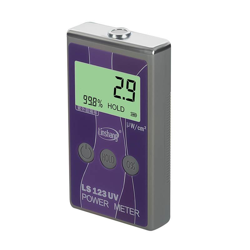 LS123 UV Power Meter Ultraviolet Rejection Rate Tester Intensity Transmittance
