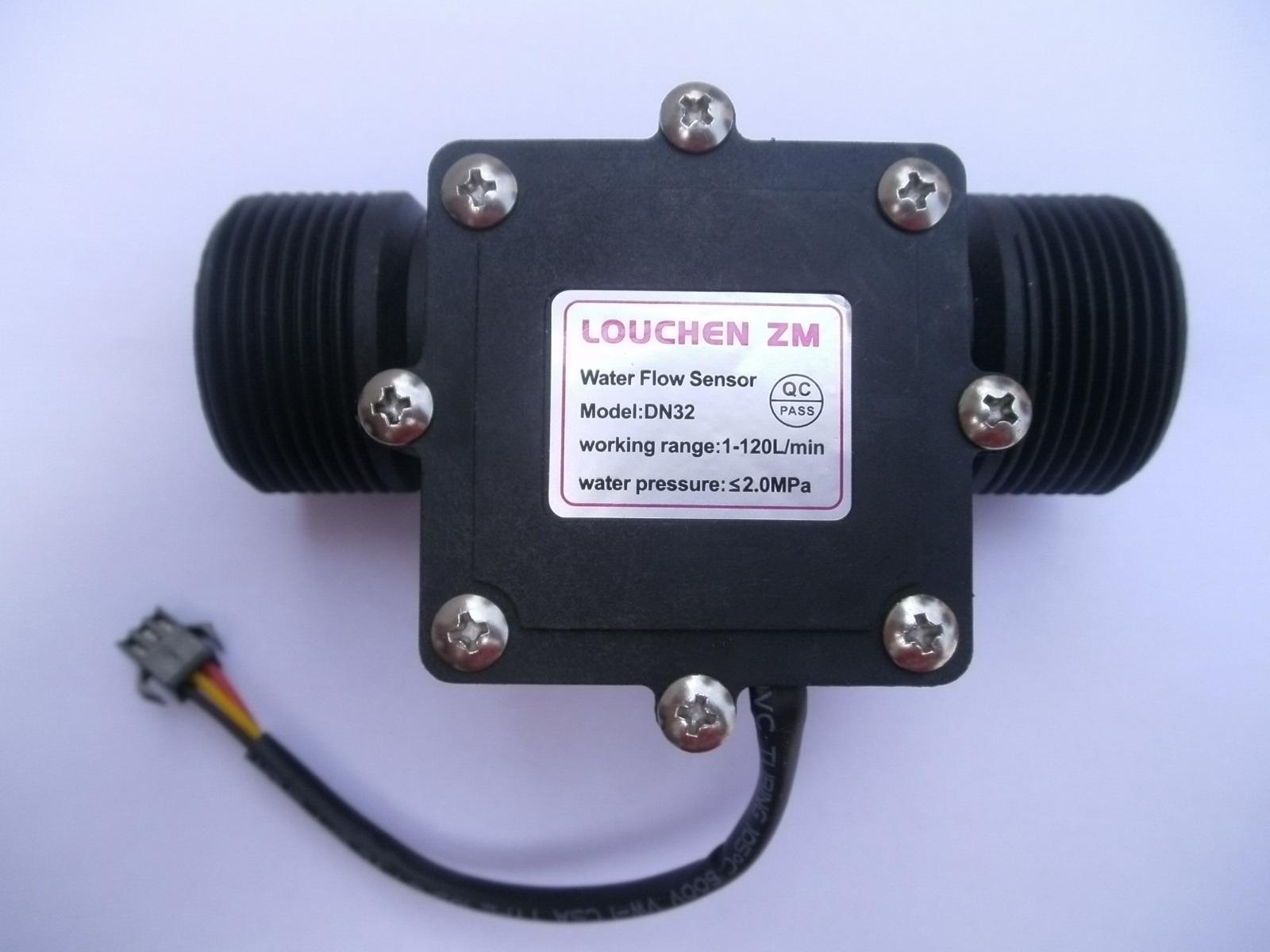 "G1-1//4/"" 1.25 Water Flow Flowmeter Counter Hall Sensor Switch Meter 1-120L//min"