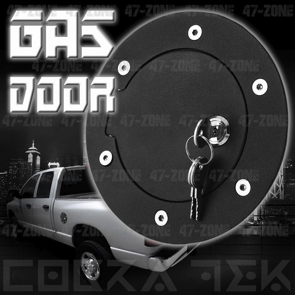 Tyger for 02-08 Dodge Ram 1500//03-09 Ram 2500//3500 Chrome Fuel Gas Door Cover