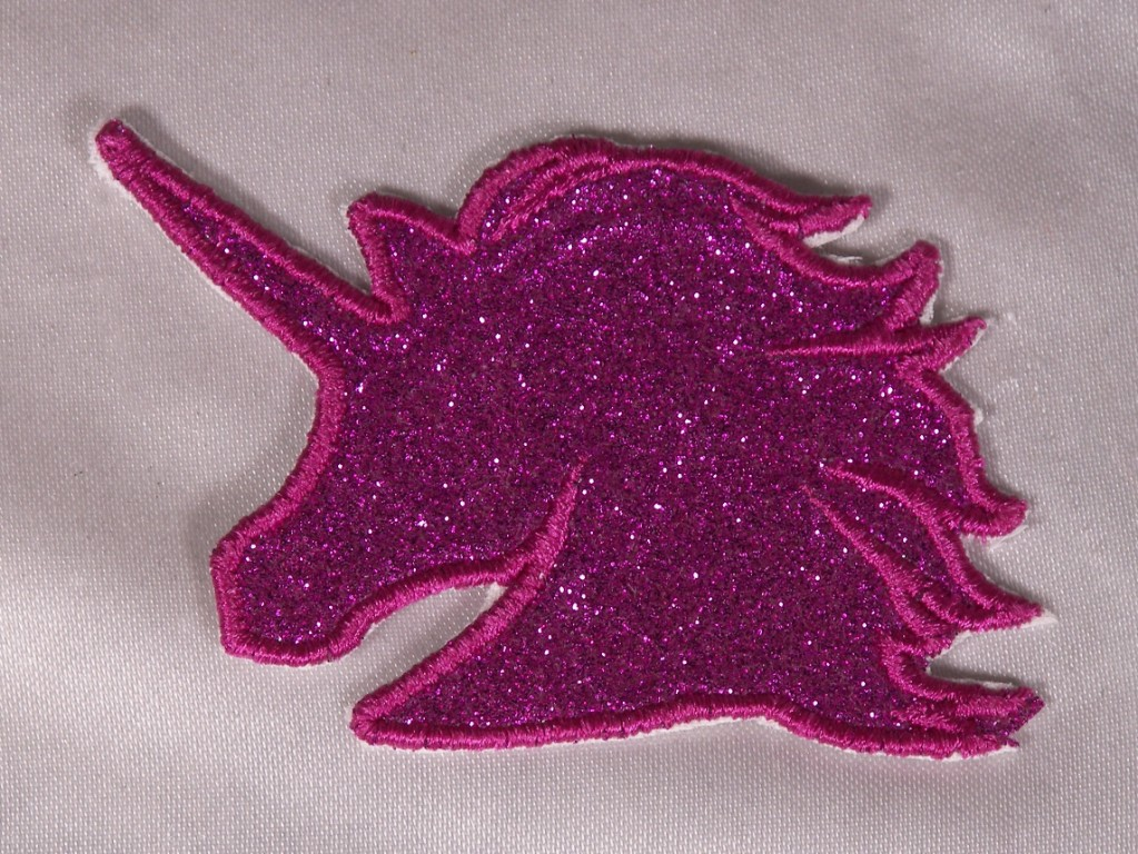 Embroidered Retro Vintage 80s Neon Hot Pink /& Blue 1989 Year Patch Iron On USA
