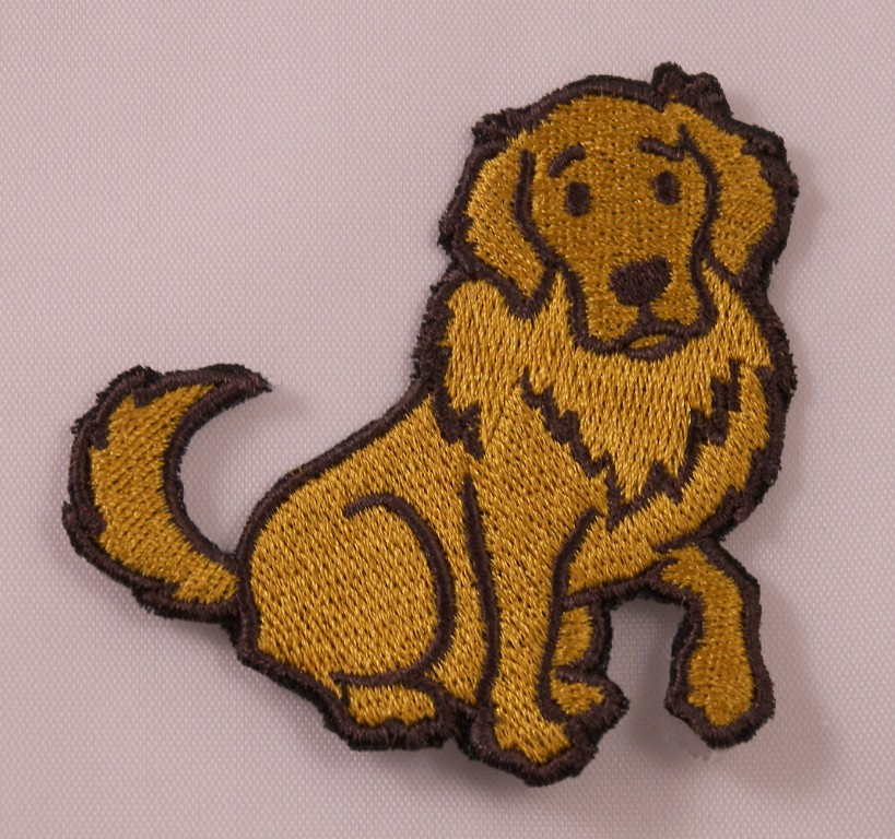 Embroidered Retro 70s Disco Dancer Pug Puppy Dog Funny Patch Iron On Sew On USA