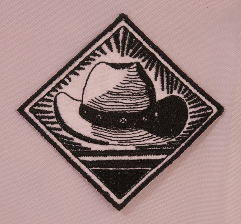 Embroidered Retro Vintage Style I Love Horses Black Shield Patch Iron On Sew USA
