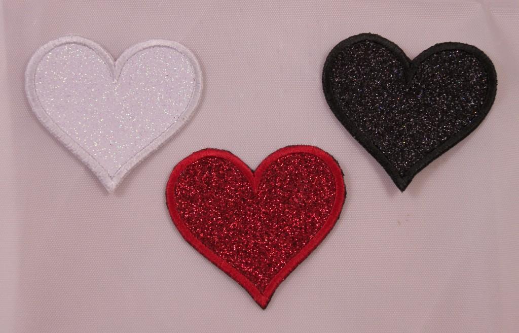48pc Negro//Blanco//Rosa//Púrpura Camilla De Oreja Set Expansores de cirios Corazón