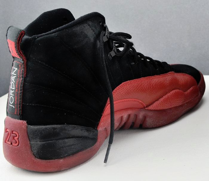 new style 7a986 e7ac1 Limited Edition Air Jordan 12 (XII) Retro Black   Varsity Red Shoes Size  USA 10 823233109469   eBay