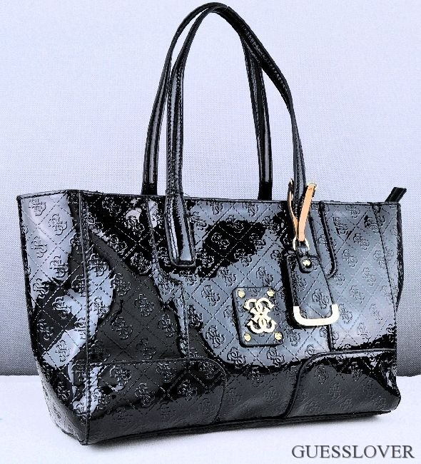 Details about NEW Guess Valka Satchel Bag Black Woman Neuf show original title
