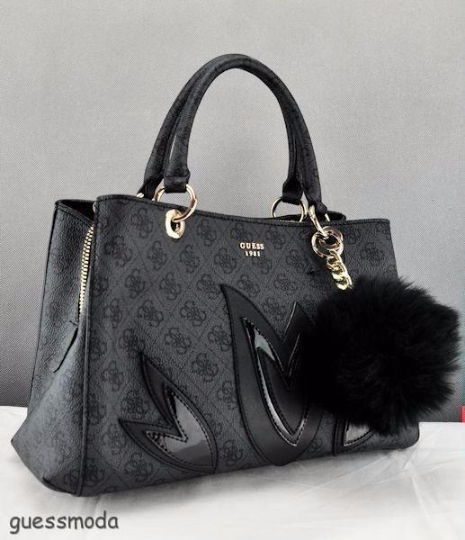 02d4c08138 Brand New GuEsS Rare Collections Handbag Ladies Jaden Bag Coal ...