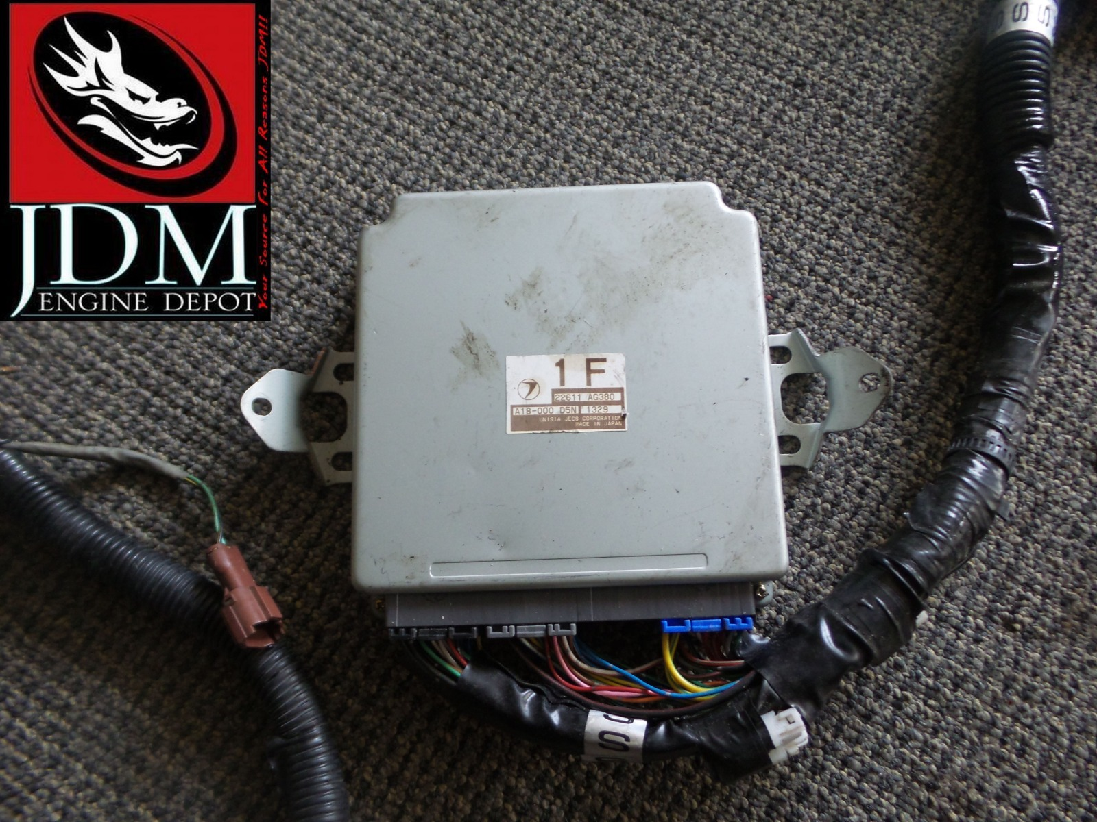 Buy 98 01 Subaru Forester Turbo Wiring Harness With Auto Ecu 22611 This Listing Is For A Used Imported From Japan