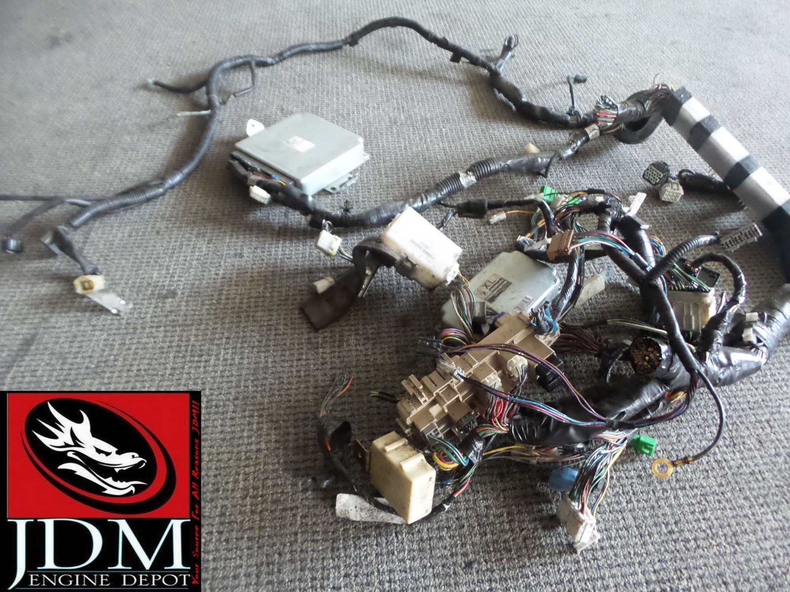 Find 98 01 Subaru Forester Turbo Wiring Harness With Ecu 3 22611 This Listing Is For A Used Imported From Japan
