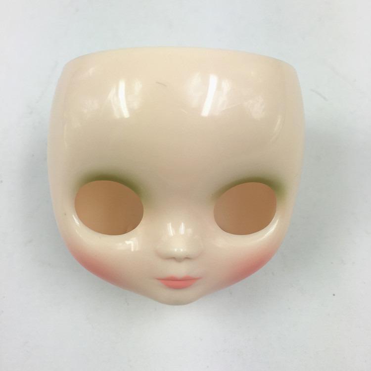 "Takara 8/"" Middie Blythe White Skin faceplate /&Backplate for Custom doll"