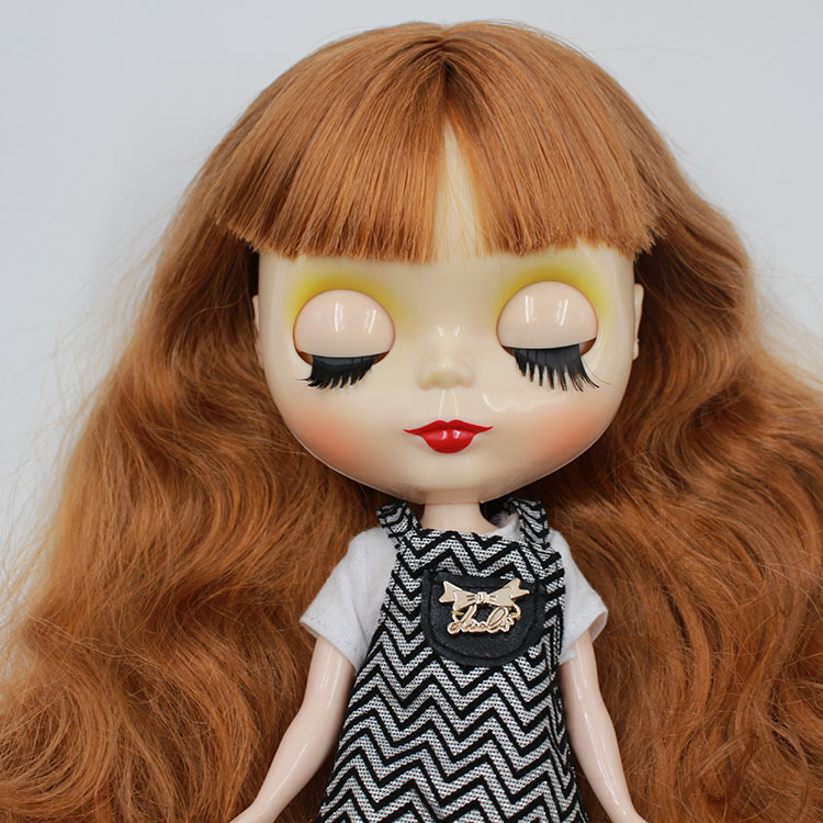 """Takara 12/"""" Neo Blythe Red Hair Nude Doll from Factory TBY118"""
