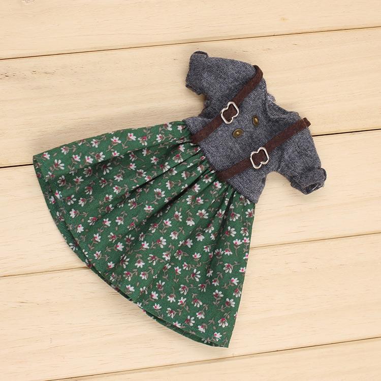 """1PC 12/"""" Blythe Doll Factory  Blythe/'s Outfit Simple Lace Dress JS34"""