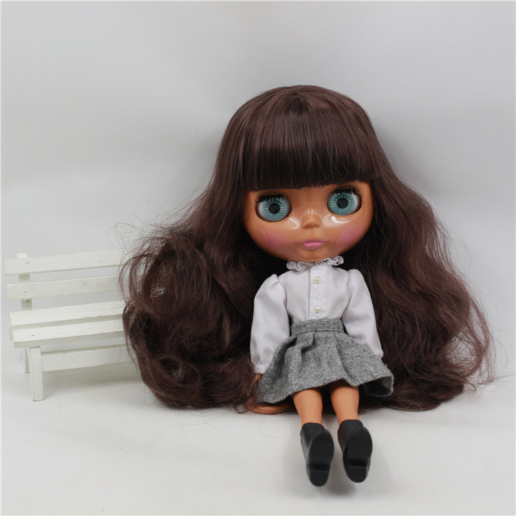 "Takara 12/"" Neo Blythe Dark Skin Nude Doll from Factory TBY321"