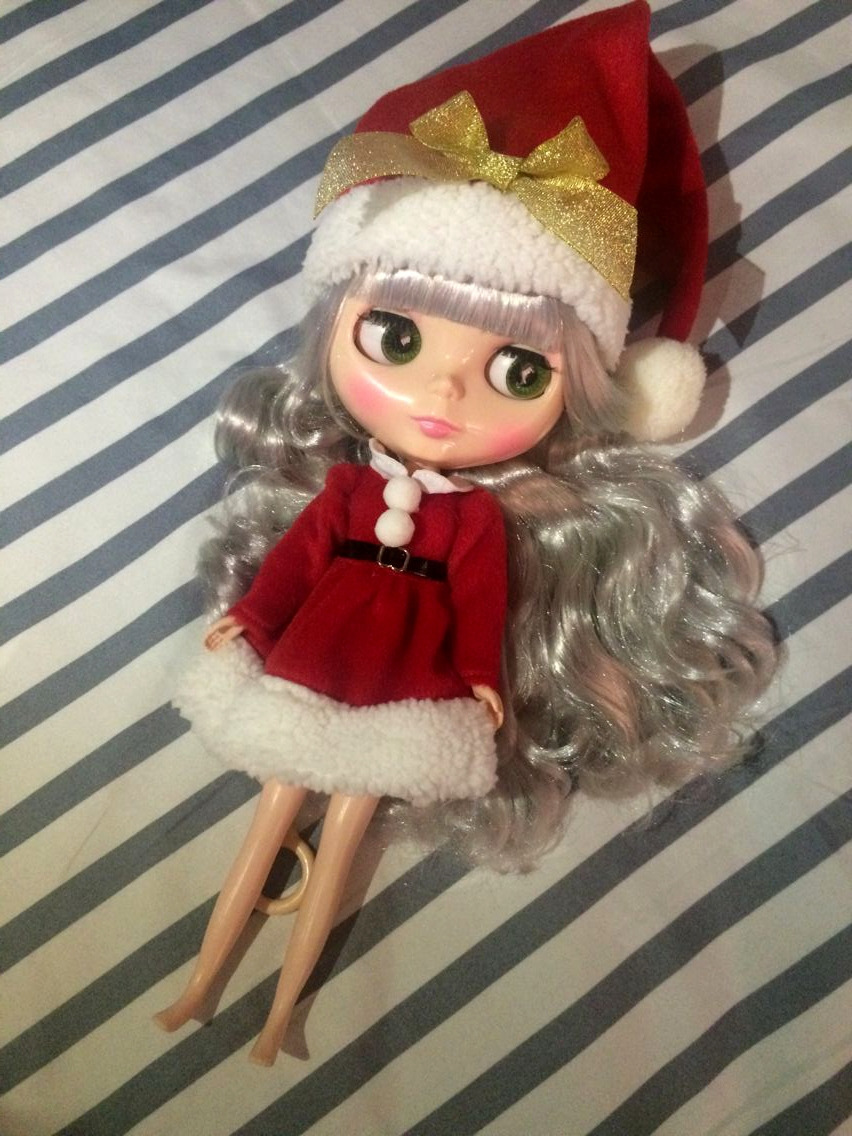 "12/"" Neo Blythe Doll  Doll  from Factory Includes Christmas  Outfit  /& Shoes J009"