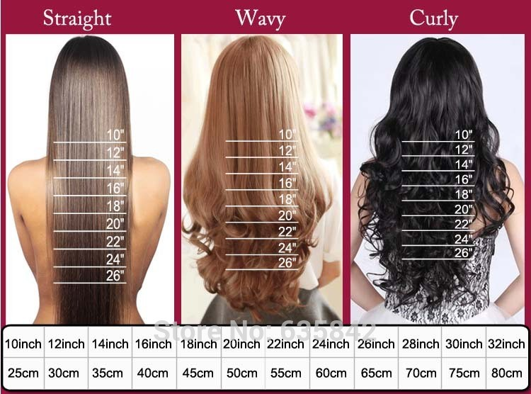100full Head Clip In Hair Extensions 18 Clips On Real Straight Wave