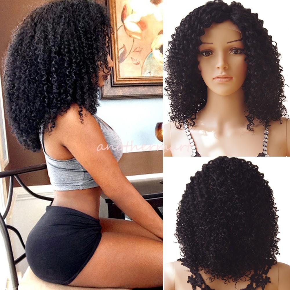 Real Hair Wigs Soft Peruvian Human Hair Wavy Full Lace
