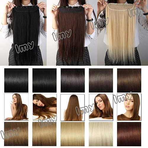 50 100 gram clip in remy real human hair extensions one piece 3 item information material100 remy human hair pmusecretfo Gallery