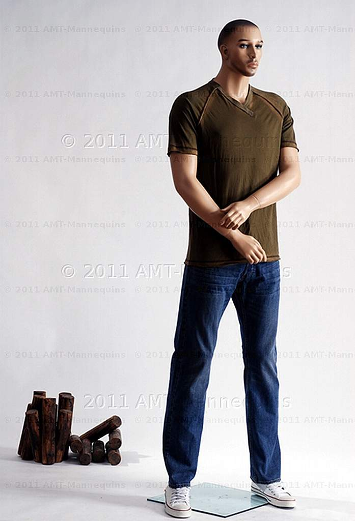 Details about Male mannequin AMT-MANNEQUINS standing display manikin - tall  Bill