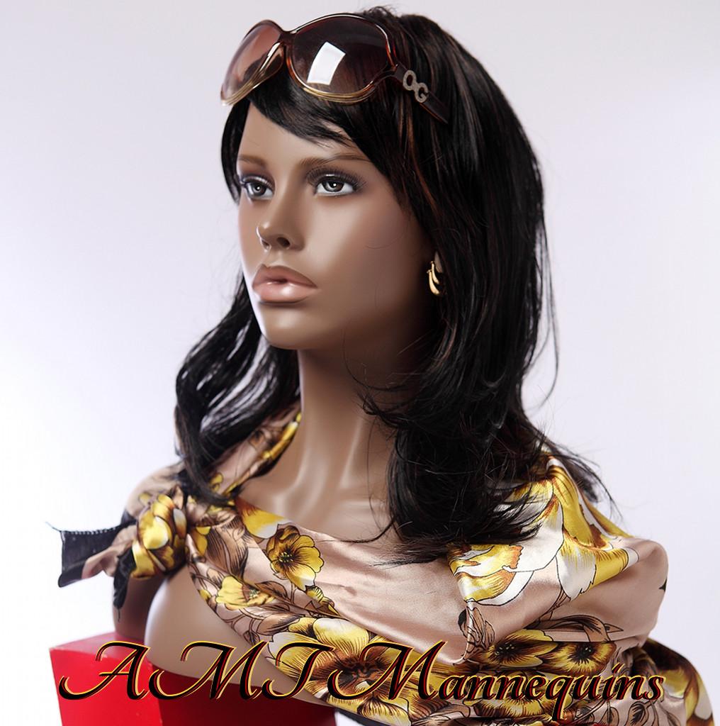 Female Mannequin Head Display Wigs Hats Scarves Jewelry Manikin Head