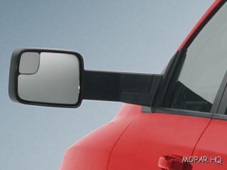 09 10 Dodge RAM 1500 Trailer Tow Mirrors