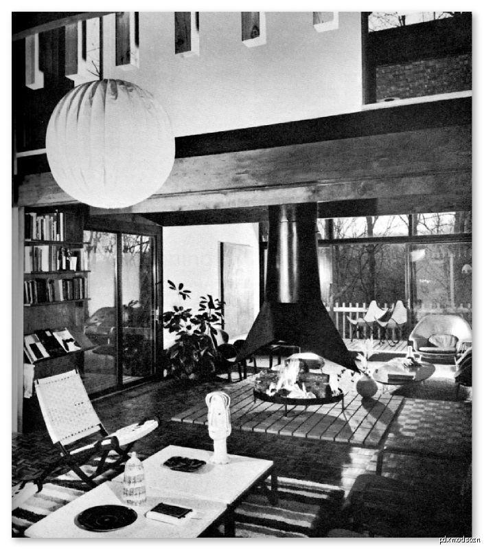 Mid Century Modern Home Designs: 1968 COMPREHENSIVE RESOURCE OF MID CENTURY MODERN INTERIOR