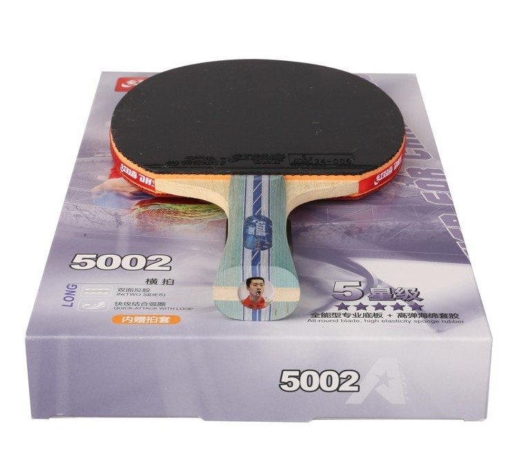 Double Happiness 5002 Table Tennis Racket Ping Pong Paddle