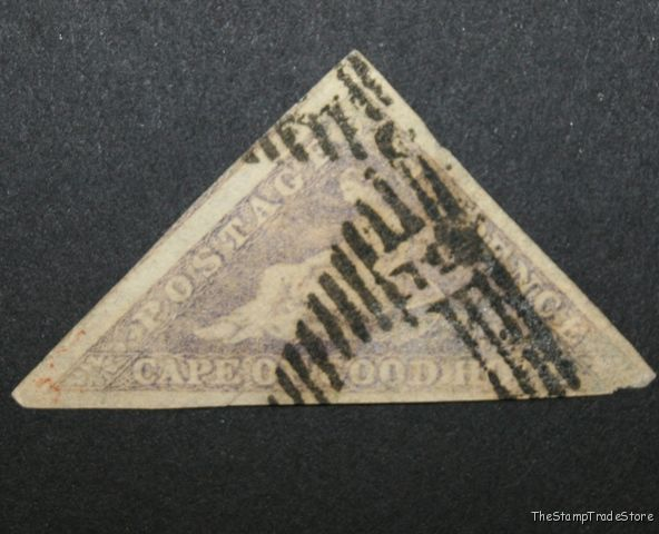 Cape of Good Hope Triangular Stamp 6d. 1855-63