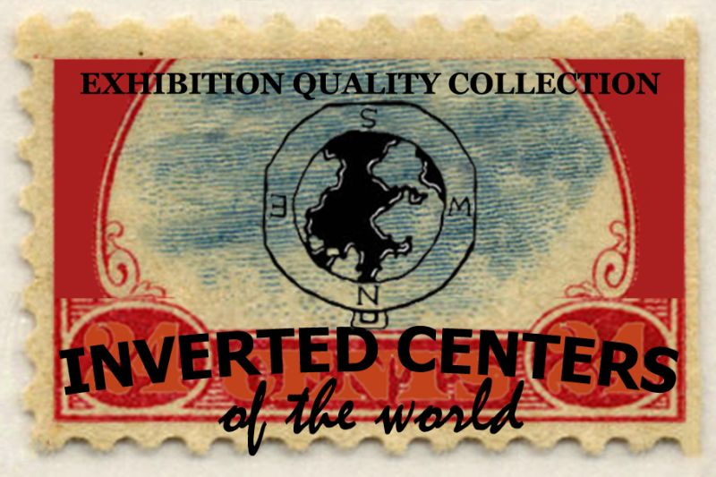 in store selection of Inverted Center Stamps