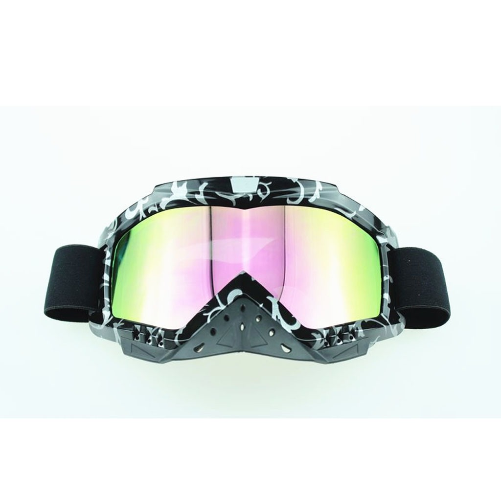 Adult Motocross Motorcycle Dirt Bike Atv Mx Off Road Safety Goggle