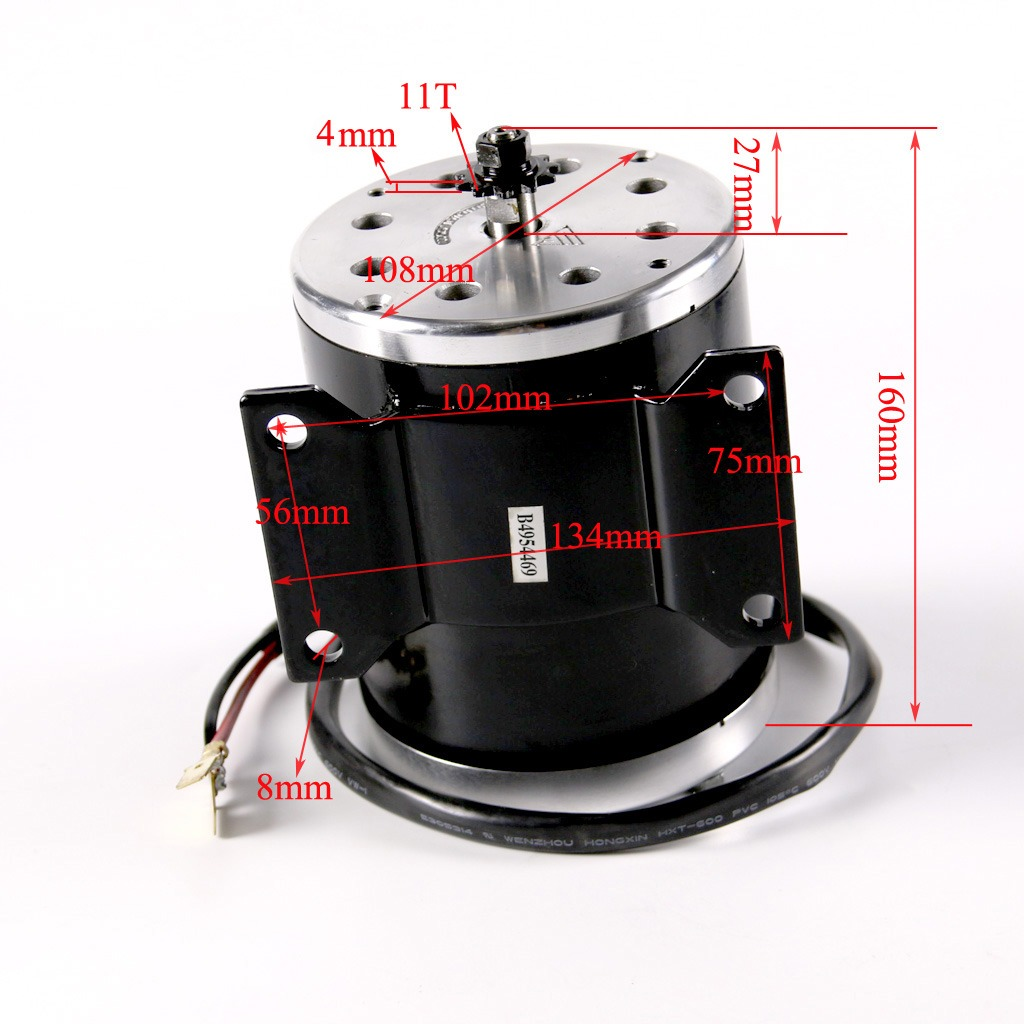 high performance 800w 36v electric motor for scooter. Black Bedroom Furniture Sets. Home Design Ideas