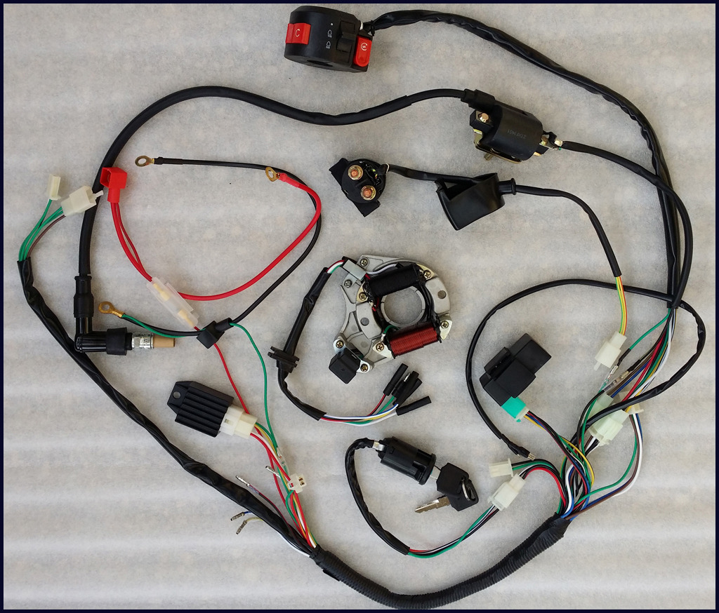 125cc Pit Bike Wiring Diagram: Lei quad bike wiring diagramrh:svlc.us,