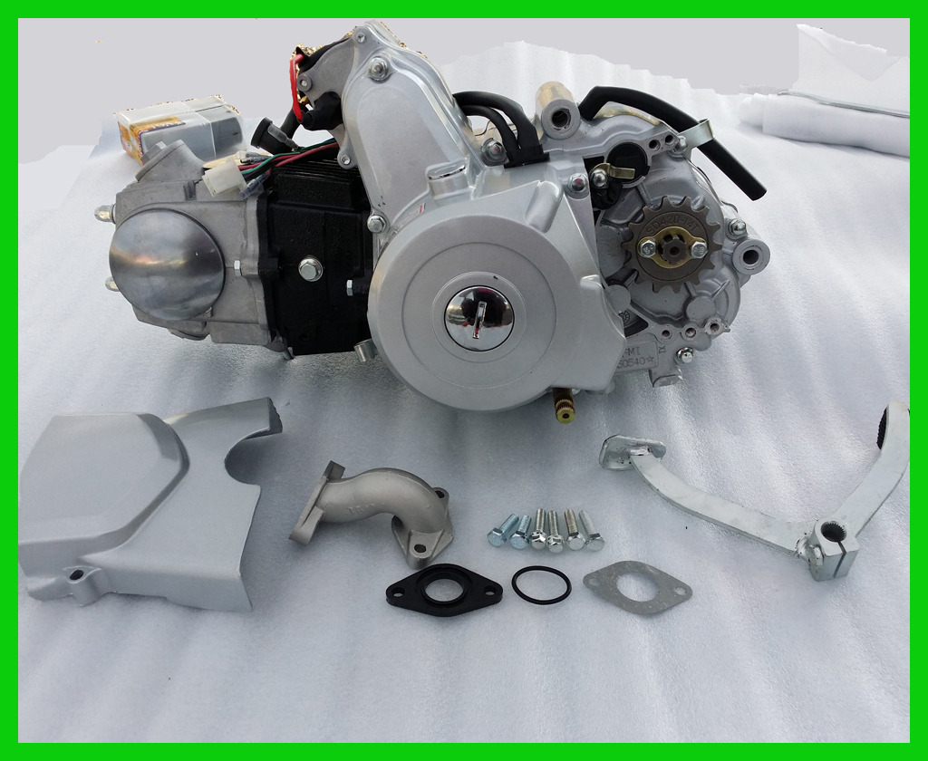 new 125cc 3 1 semi auto 3 speed reverse engine motor pit. Black Bedroom Furniture Sets. Home Design Ideas