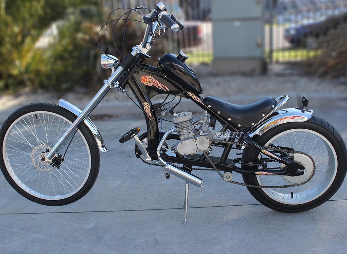 49cc 50cc Motorised Motorized Bicycle Push Bike 2 Cycle Stroke Motor ...