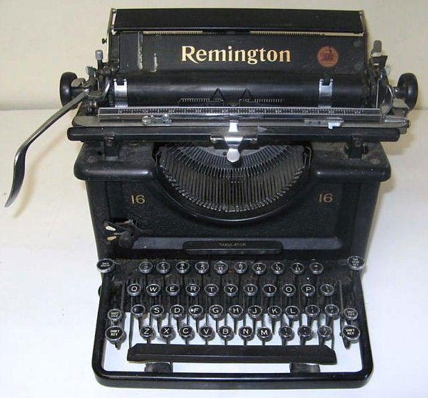 REMINGTON No.12 TYPEWRITER ADJUSTMENTS INSTRUCTIONS How To Antique Vtg  Standard
