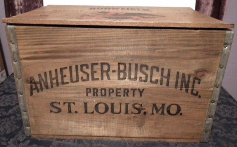 Vintage Wooden Beer Crates Old Antique Beer Case