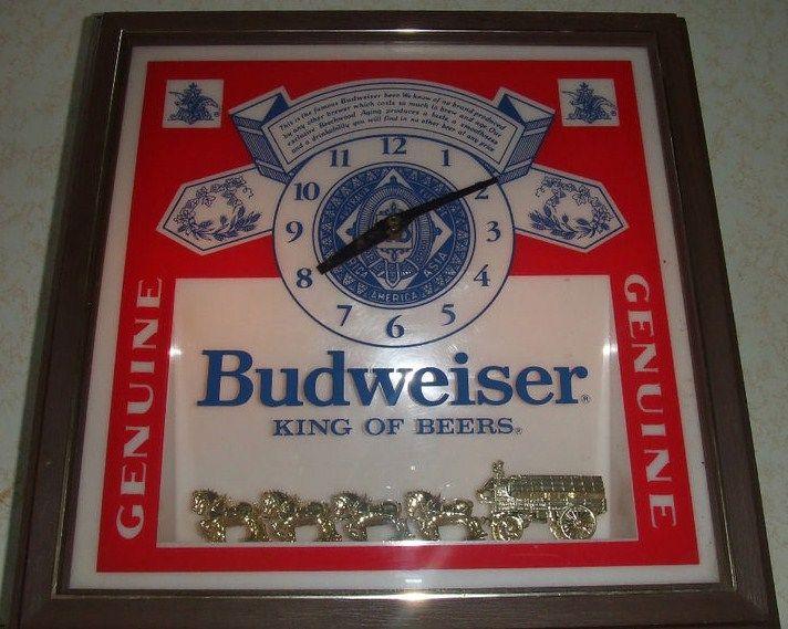 Vintage Beer Clocks 101