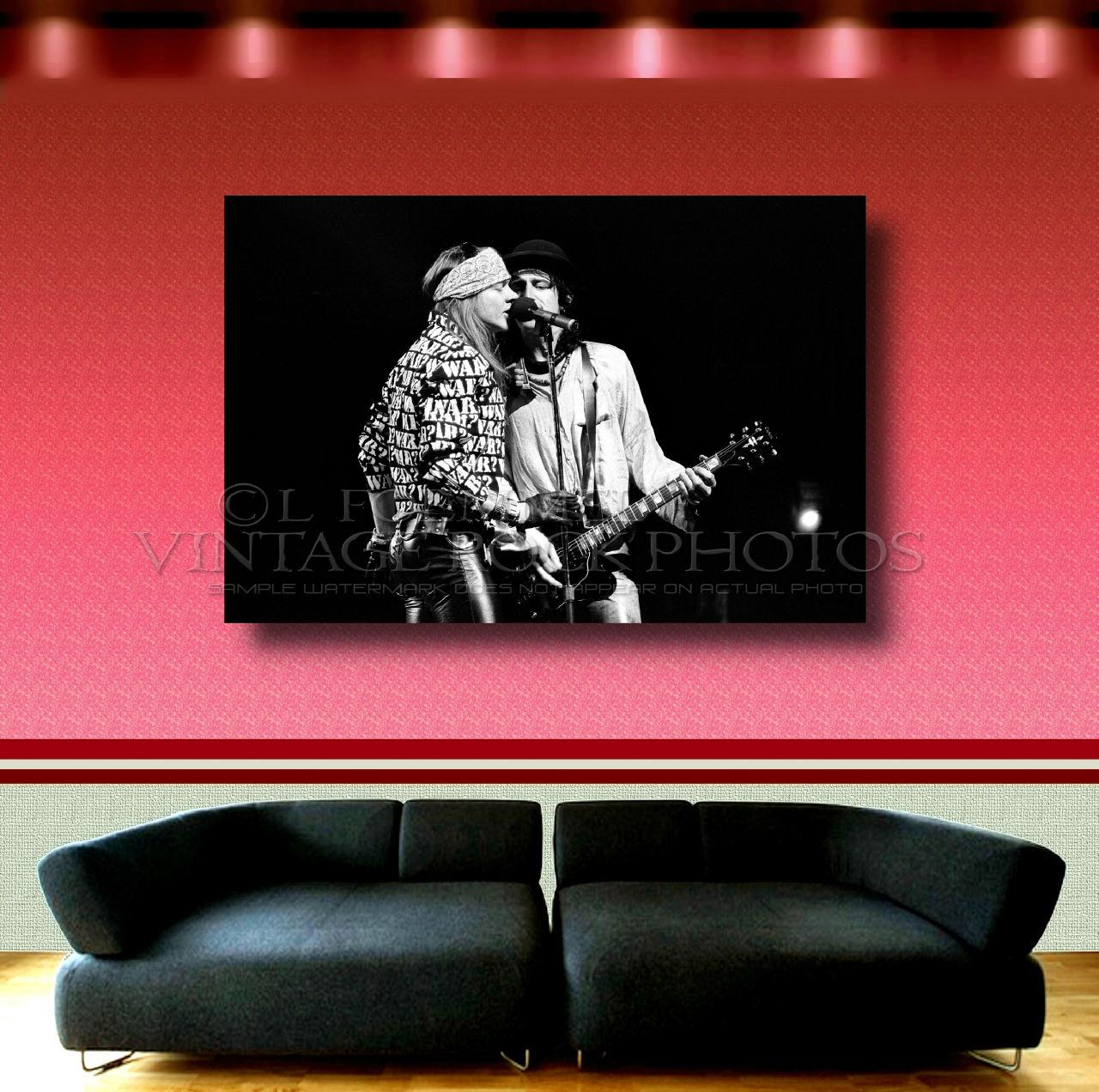 Axl Rose, Izzy Stradlin GNR 24x36 Inch Poster Size Photo
