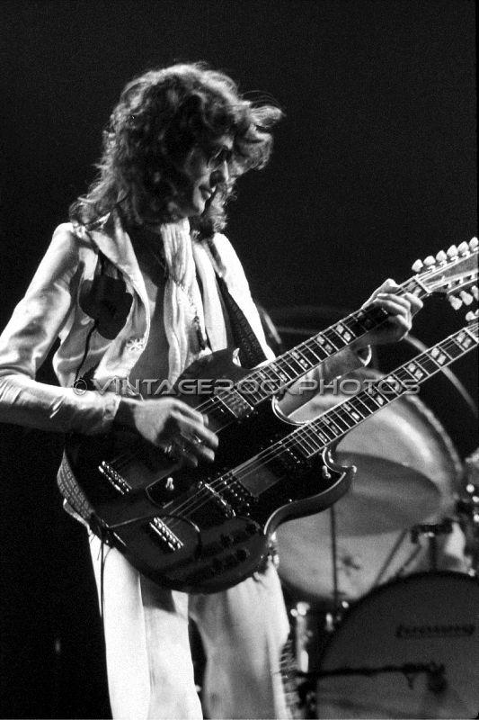 Jimmy Page Led Zeppelin 20x30 Poster Size Photo Live 70 S Concert Pro Print 58 Ebay