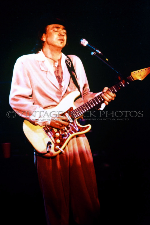 stevie ray vaughan photo 8x12 inch 39 80s live concert pro fuji studio print 105 ebay. Black Bedroom Furniture Sets. Home Design Ideas