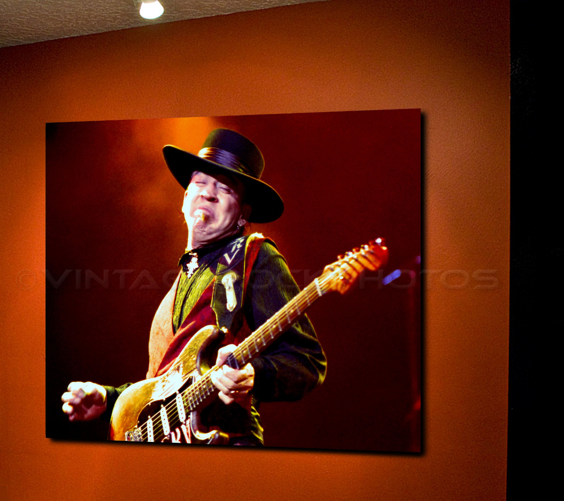 stevie ray vaughan poster 16x20 inch photo 39 80s live concert pro canon print 3 ebay. Black Bedroom Furniture Sets. Home Design Ideas
