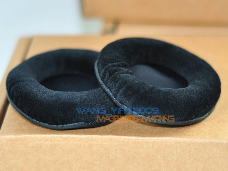 Velour 72mm Ear pads earpad cover pad cushion replacement for headphones 70