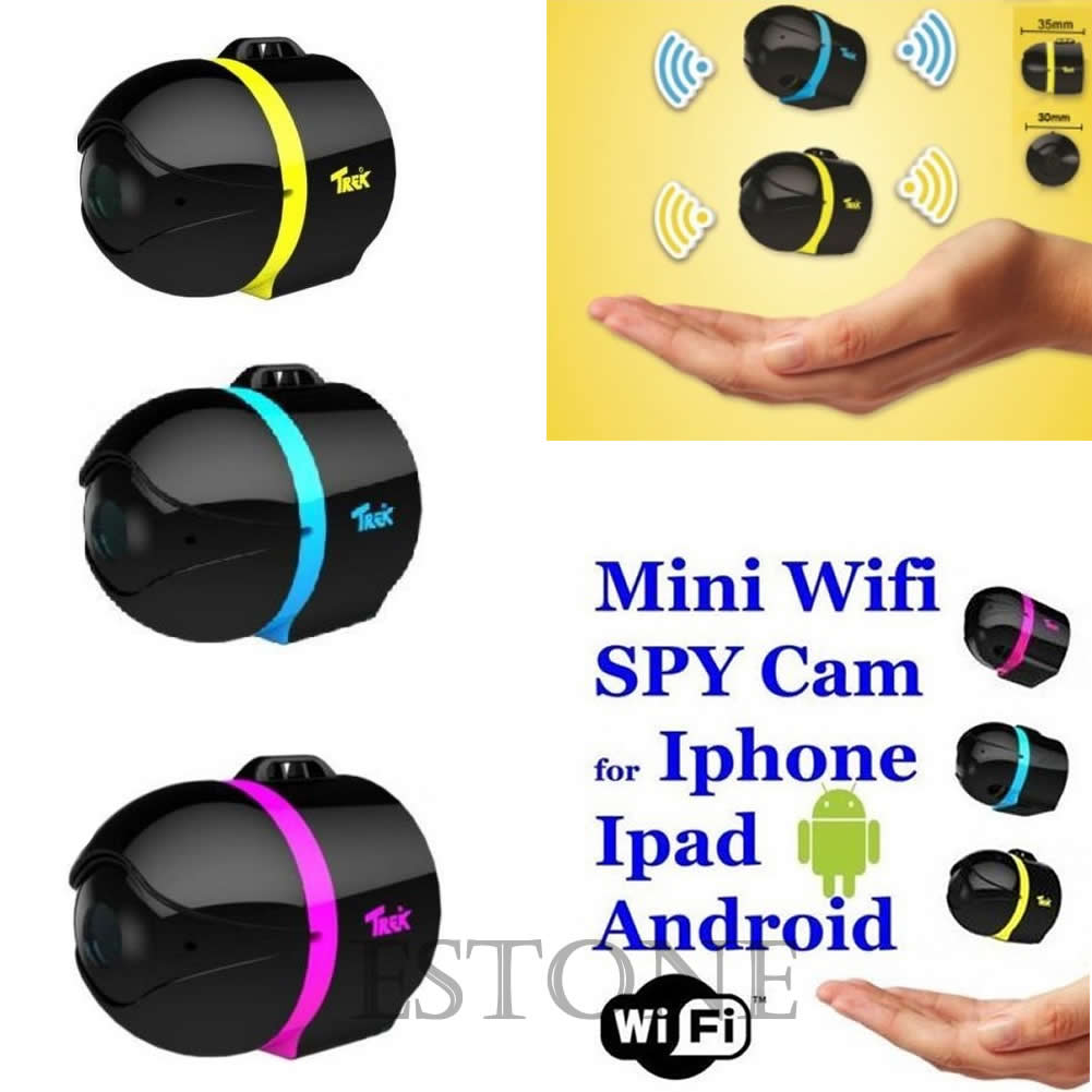 Ball Mini Wifi Remote Cam IP Wireless Spy Surveillance Camera For ... for Mini Spy Camera For Iphone  155sfw